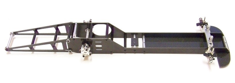 Pro stock rc dragster rail chassis